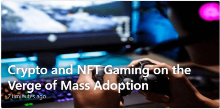 بازی Crypto و NFT در آستانه پذیرش انبوه